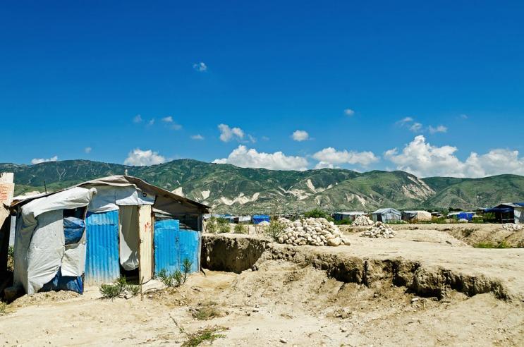 Haitian refugee camp 'Corail'