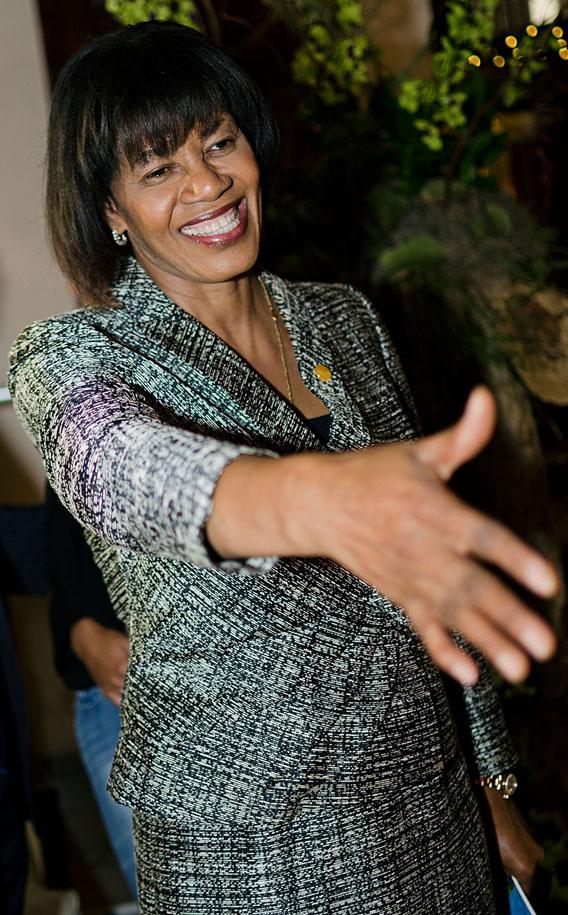 Portia Simpson-Miller, prime minister of Jamaica