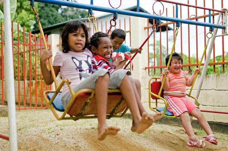 Surinamese schoolchildren
