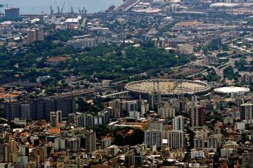 The Maracana soccer-stadium in Rio de Janeiro