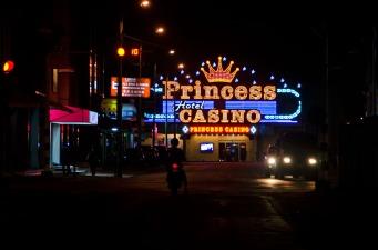 The Princess Casino in Paramaribo, Suriname